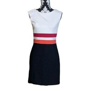 Ann Taylor LOFT Sheath Dress Sz 0 Career Ponte